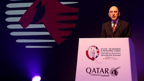 Qatar Airways CEO AL Baker