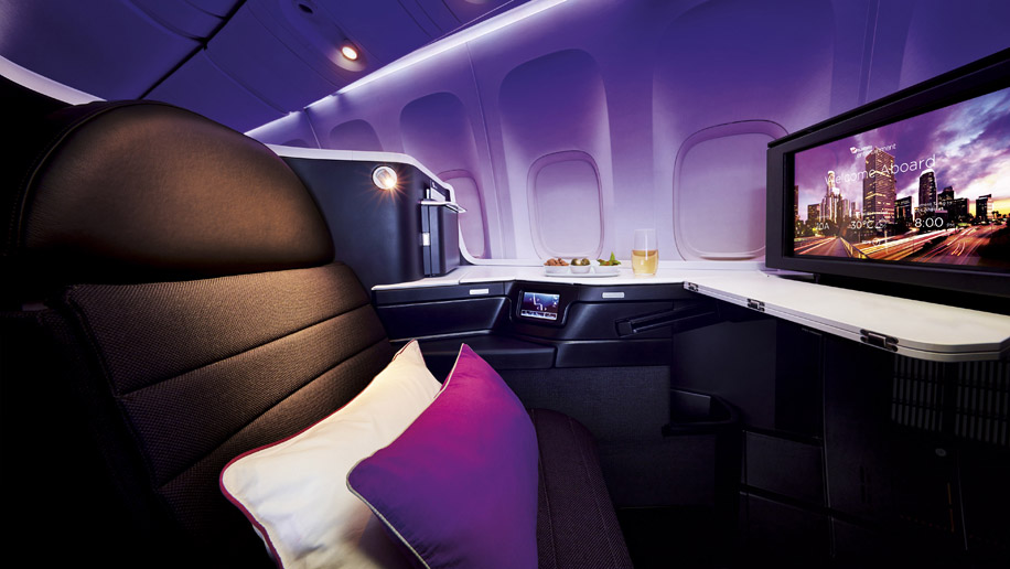 "Virgin Australia A330-200 ""The Business"" Business Class"