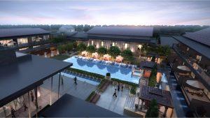 Rendering of the Dusit Thani Wetland Park Resort Nanjing