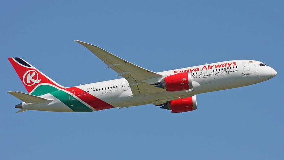 Kenya Airways B787-8