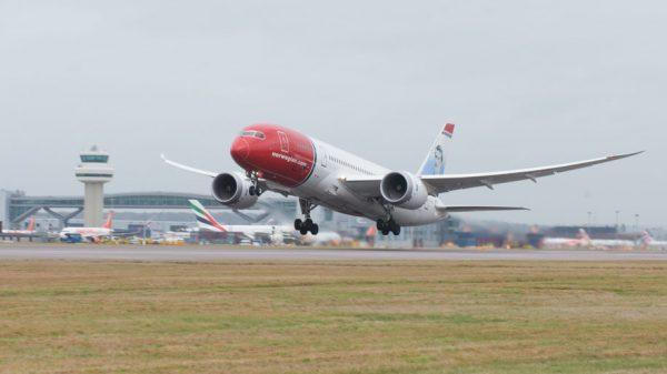 Norwegian B787 Dreamliner