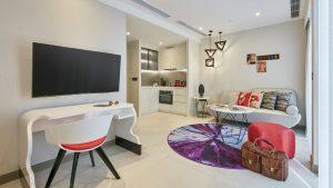 Oakwood Studios Singapore - studio (living room)