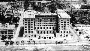 The Peninsula hotel in 1928