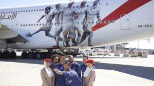 Emirates Real Madrid A380