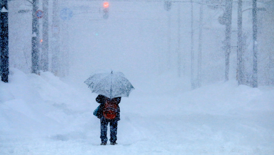 Severe Weather Forecast Disrupts Services To Us East Coast