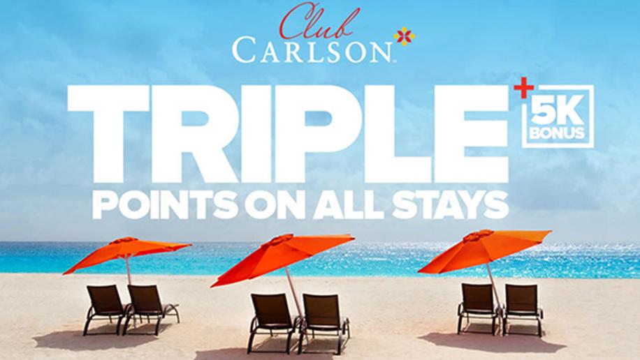 Club Carlson promotion