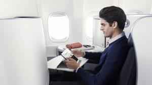 Air France business class