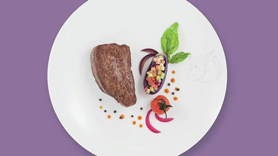 A dish created by Guy Martin for La Premiere customers in 2017