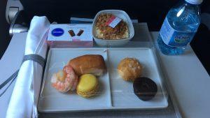Air France food business class short-haul