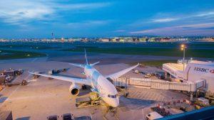 China Southern aircraft at Heathrow airport