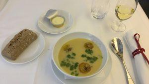 Air France La Premiere food