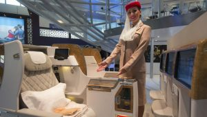 Emirates B777 Business Class
