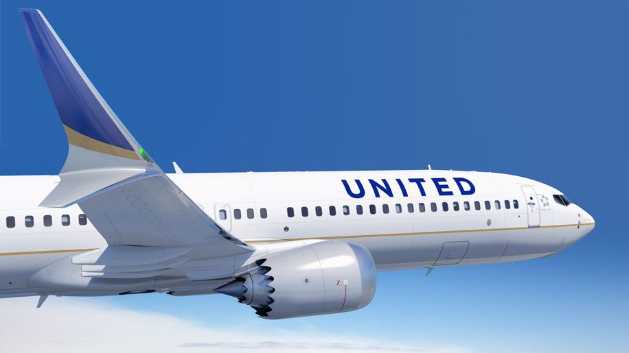 United B737 Max 9