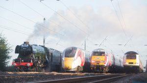 Virgin Trains showcases Azuma train