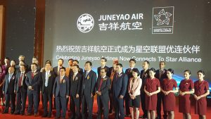 Juneyao Airlines becomes first Star Alliance connecting partner