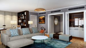 Cordis, Auckland - Chairman Suite, Lounge
