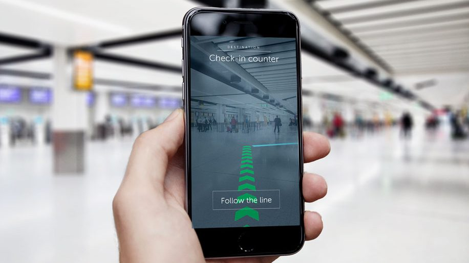 Gatwick enables augmented reality wayfinding business for Augmented reality