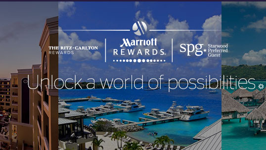 Marriot, SPG and The Ritz-Carlton loyalty programmes