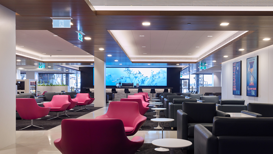 Air New Zealand's renovated Melbourne Airport lounge
