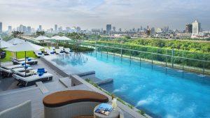 Mercure Bangkok Makkasan pool