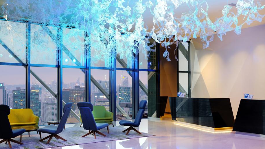 Element Kuala Lumpur lobby