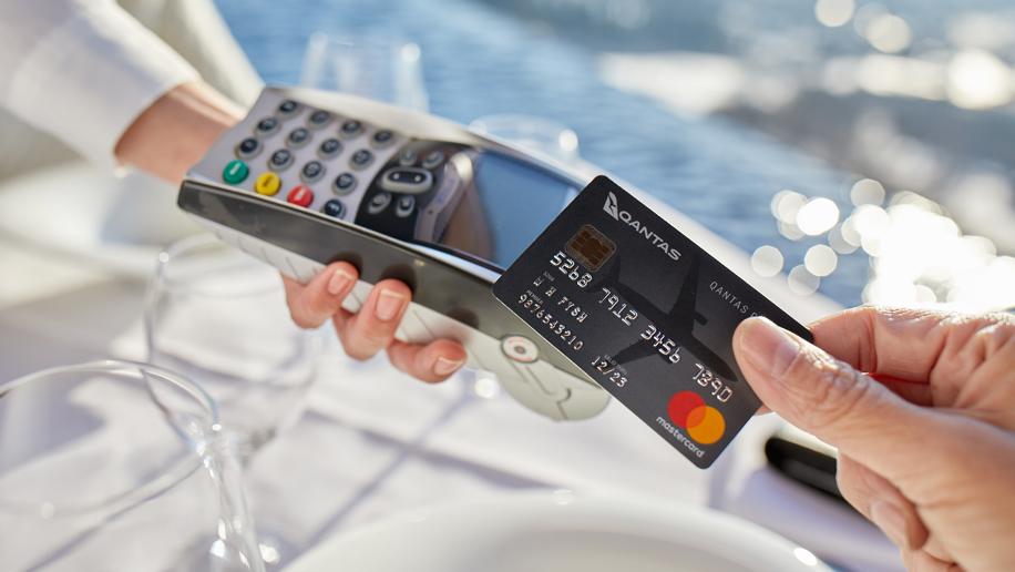 Qantas Mastercard credit card