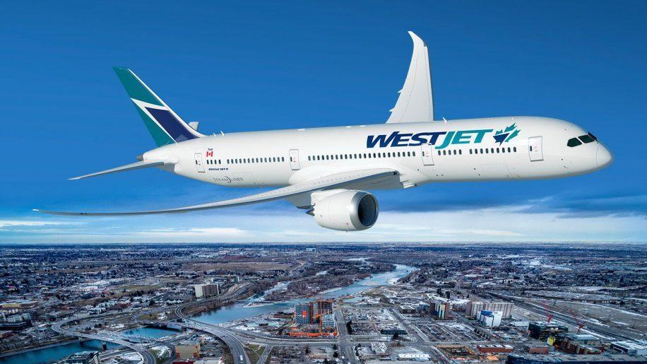 Westjet B787-9 Dreamliner