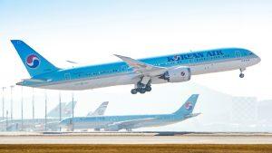 Korean AIr B787-9 Dreamliner