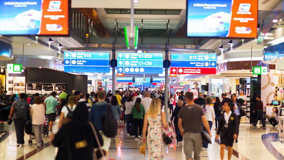 Dubai Airport Introduces Biometric Screening Business