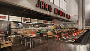 Jamie Oliver's The Diner at Gatwick Airport