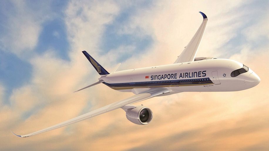 Singapore Airlines flies its A350 to Mumbai – Business Traveller