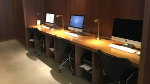 Cathay Pacific first and business class lounge Bangkok Suvarnabhumi Airport The Bureau