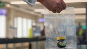 Marmite swap at London City airport