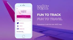 Wizzair mobile app