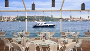 Day time Bosphorus Grill Pictures Ciragan Palace Kempinski Istanbul