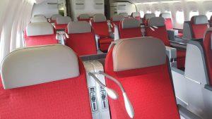 Ethiopian Airlines B767 business class refit