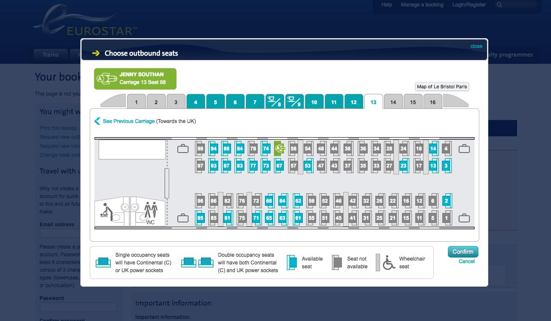 Rail review: Eurostar E320 London-Paris Standard class