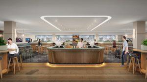 Melbourne Qantas Club lounge