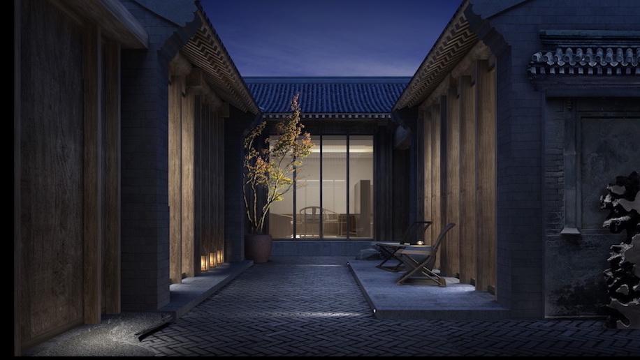 Mandarin Oriental Qianmen Beijing Inner Courtyard (H)