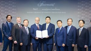 Fairmont Seoul signing ceremony