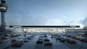 Schiphol airport new terminal design