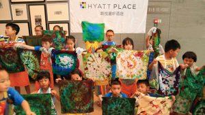 Hyatt Place Shenzhen Dongmen hosts a children's art exhibition