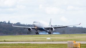 SriLankan Airlines' A330-300 touches down in Melbourne