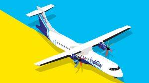 IndiGo Airlines ATR aircraft