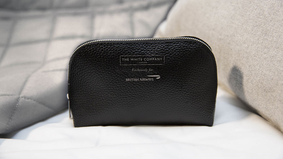 British Airways adds The White Company to business class