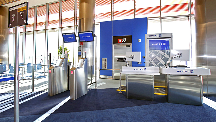 United now provides boarding passes for partner airline ...