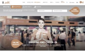 Thai Smile website