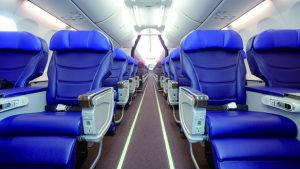 Malaysia Airlines' B737 Business Class cabin