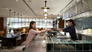 Cathay Pacific Singapore Terminal 4 lounge