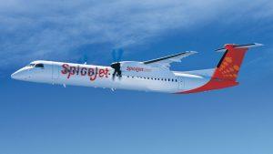 SpiceJet Bombardier